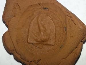 Descoperire sigiliu cu simbolul orasului Bistrita