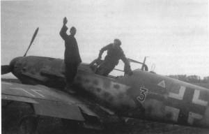 Uffz Wilhelm MAASSEN 5.G52Bf109G ,Budak Transylvania, 1944.