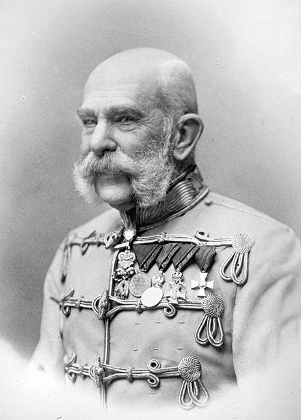 Imparatul Franz Josef I, Bistrita 13-15 septembrie 1891