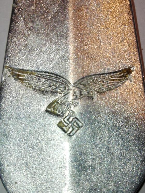 Fragment de tacam Luftwaffe pe aerodromul german Budacu