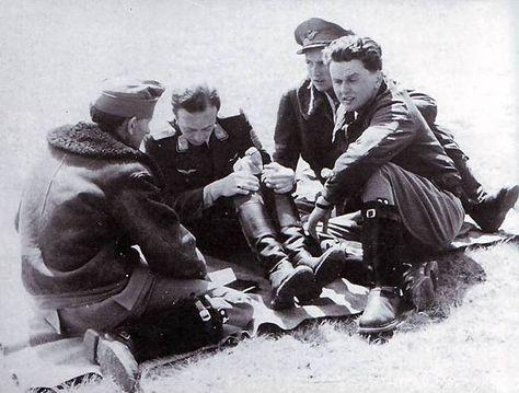"""""""Puma"""", pilot - Lt. Col.Aladar de Heppes."""