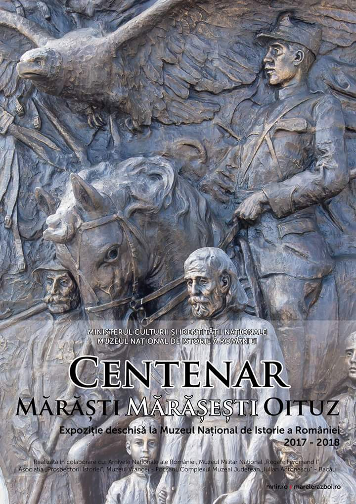 FB_IMG_1505808992857 Centenar Marasti, Marasesti, Oituz, vernisata  la Muzeul National de Istorie a Romaniei