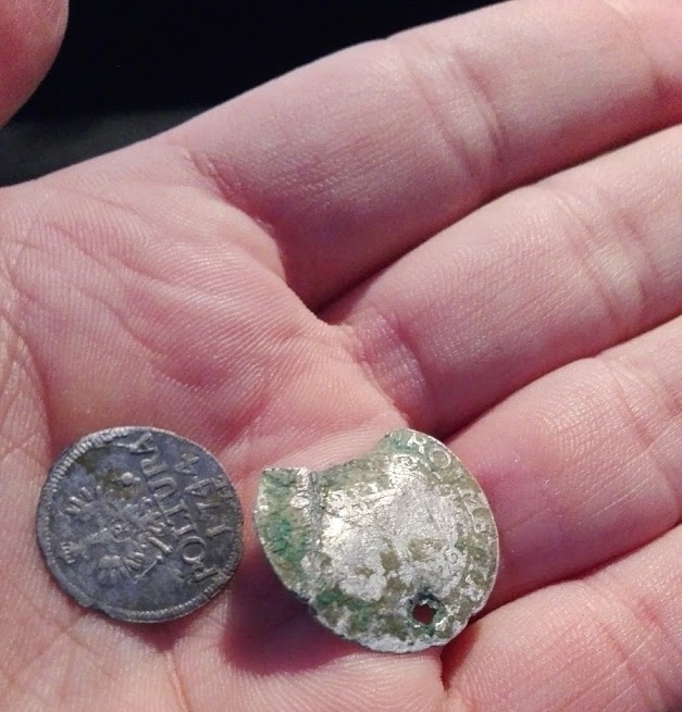 O zi cu monede de argint medievale groschen Gabor Bethlen si poltura 1744