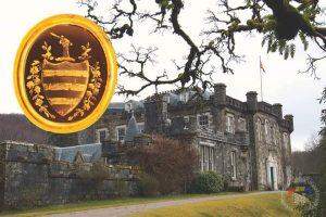 "Actuala resedinta a clanului Cameron la ""Achnacarry Castle"""