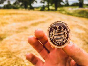 Sigiliu din aur masiv al clanului Cameron