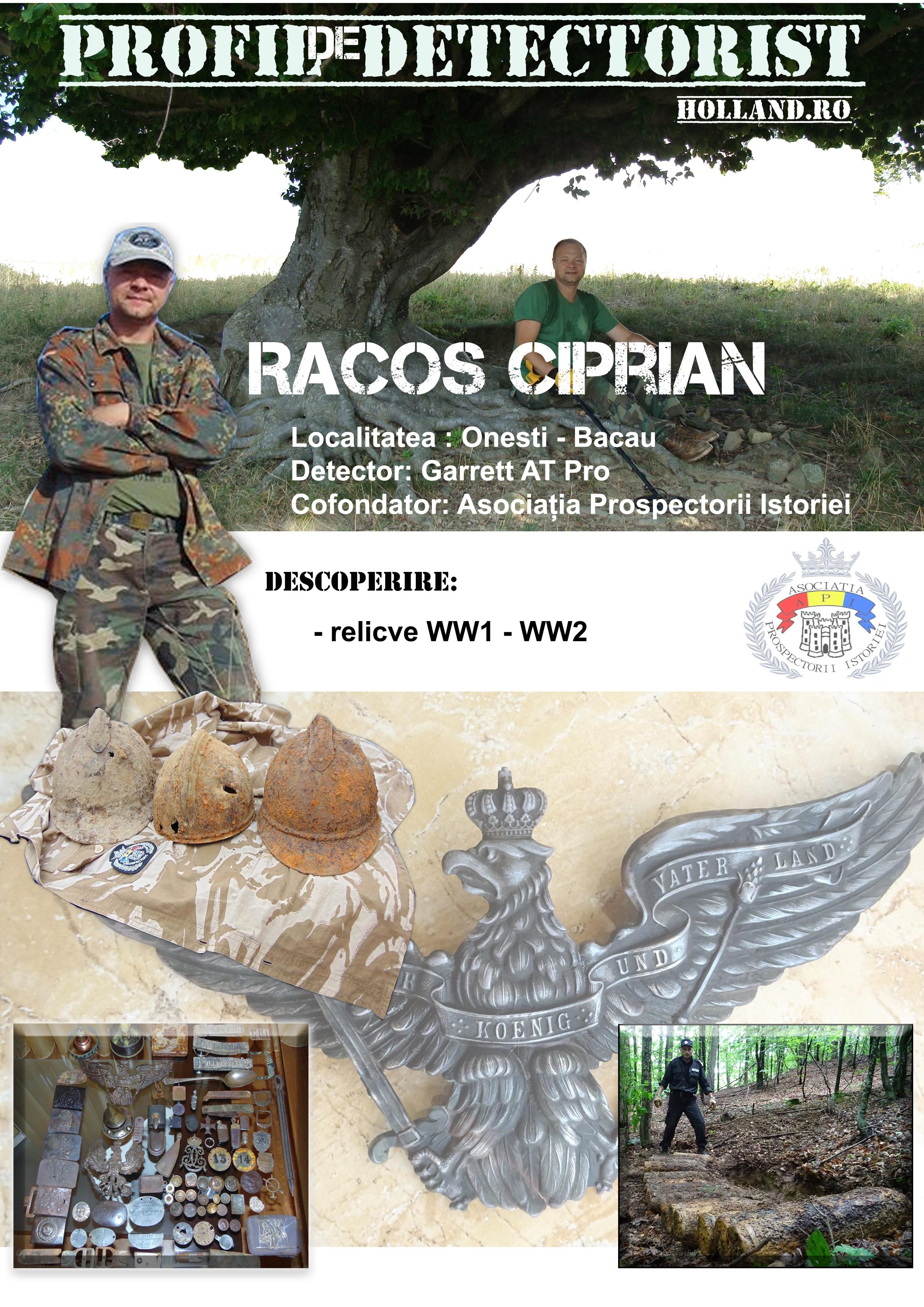 Profil de detectorist – Racoș Ciprian