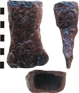 Doua obiecte dacice descoperite in Breaza (BN)