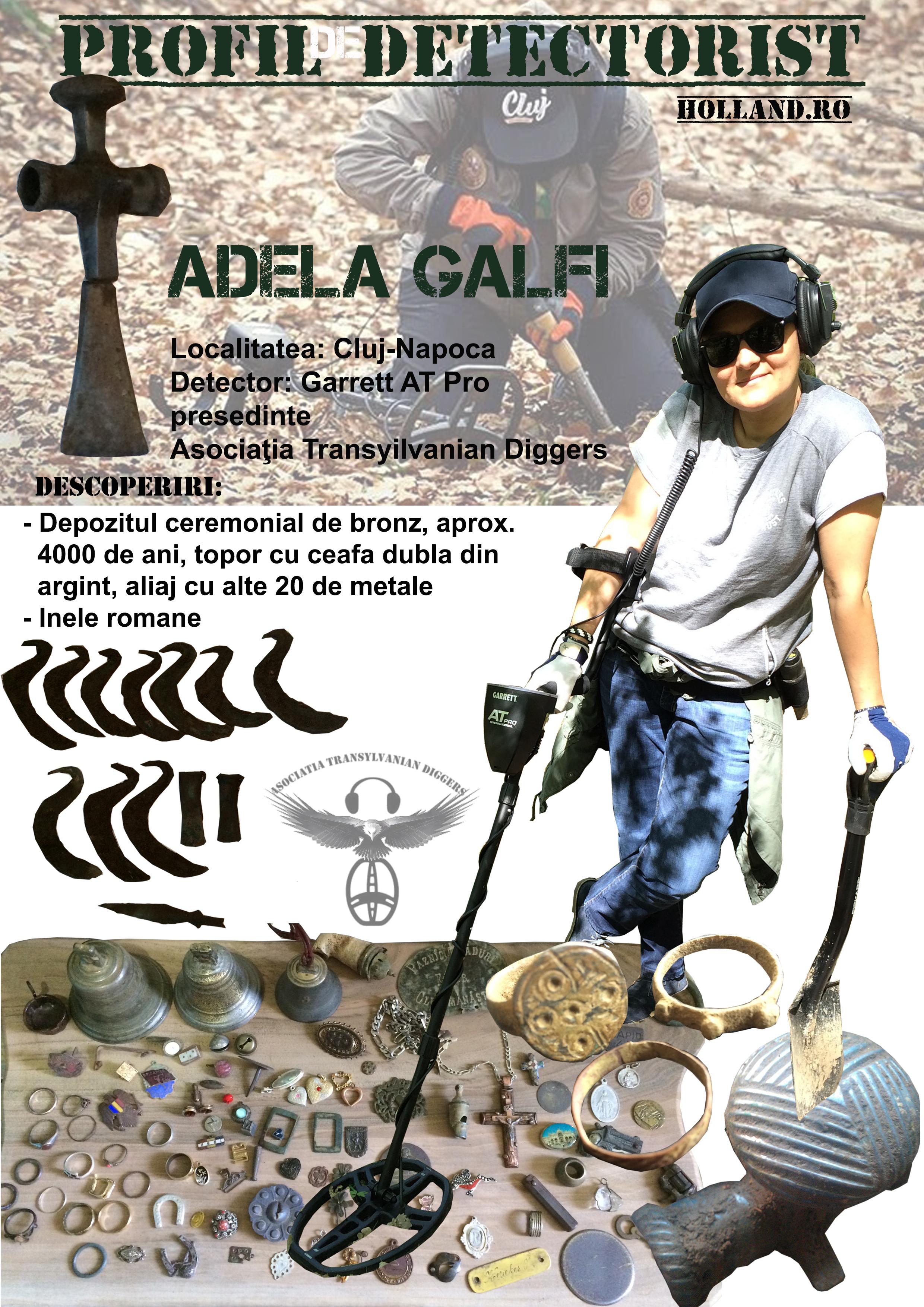 Profil de Detectorist - Adela Galfi