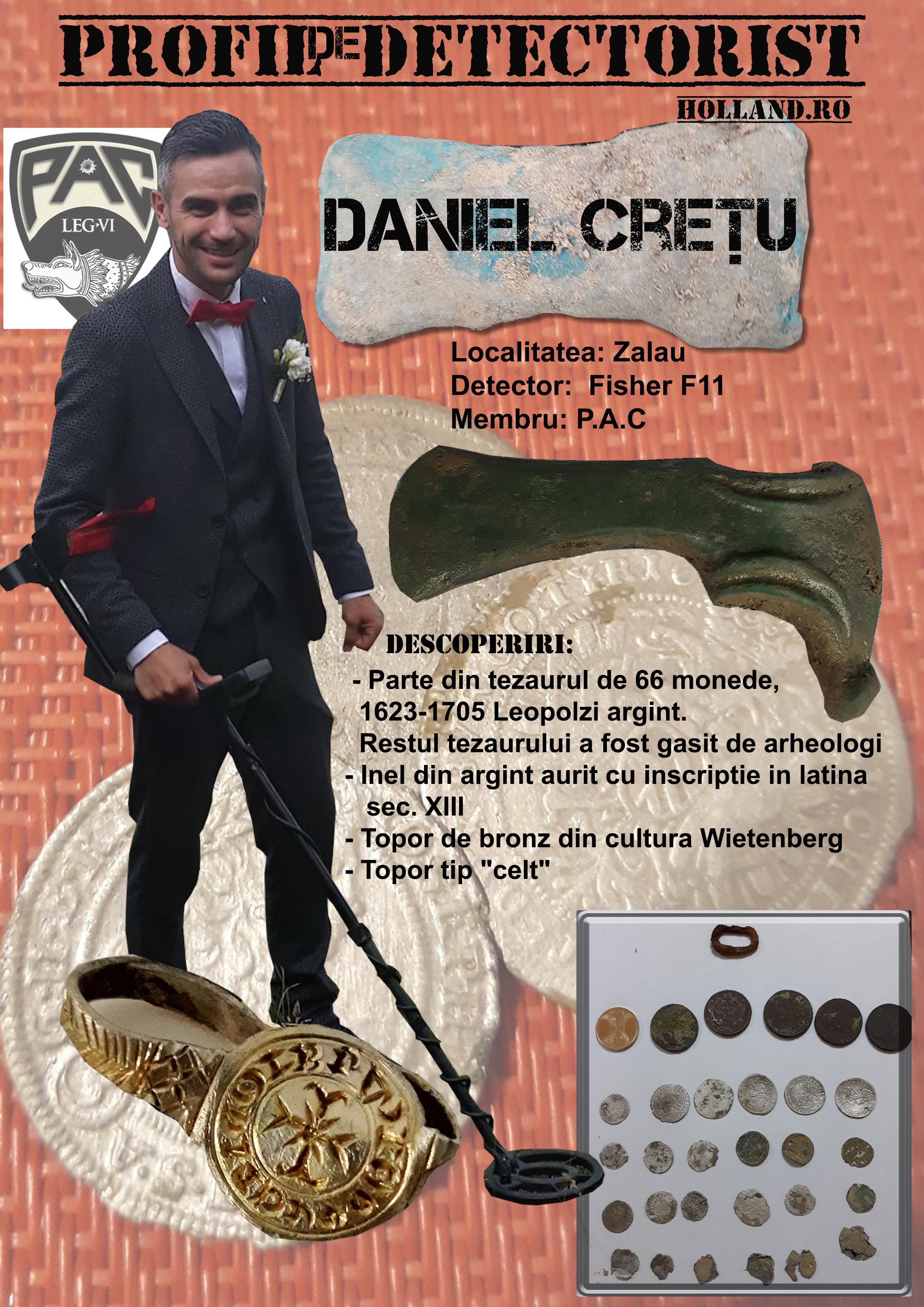 Profil de Detectorist - Daniel Cretu