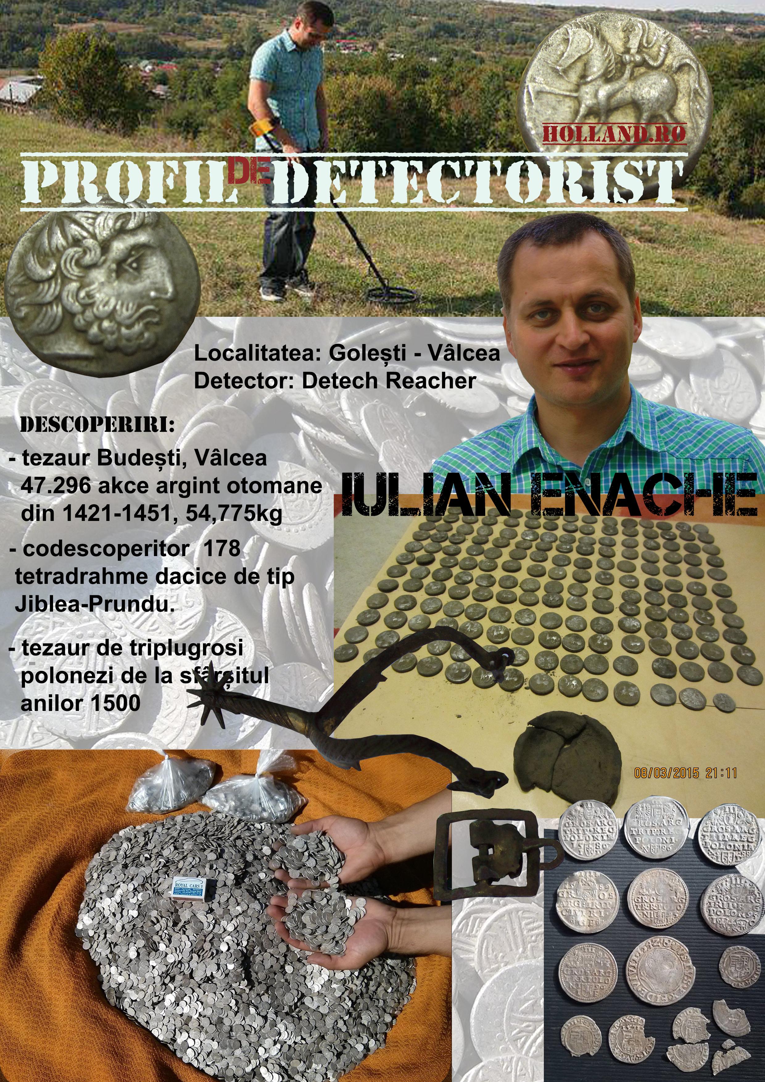 Profil de Detectorist – Iulian Enache