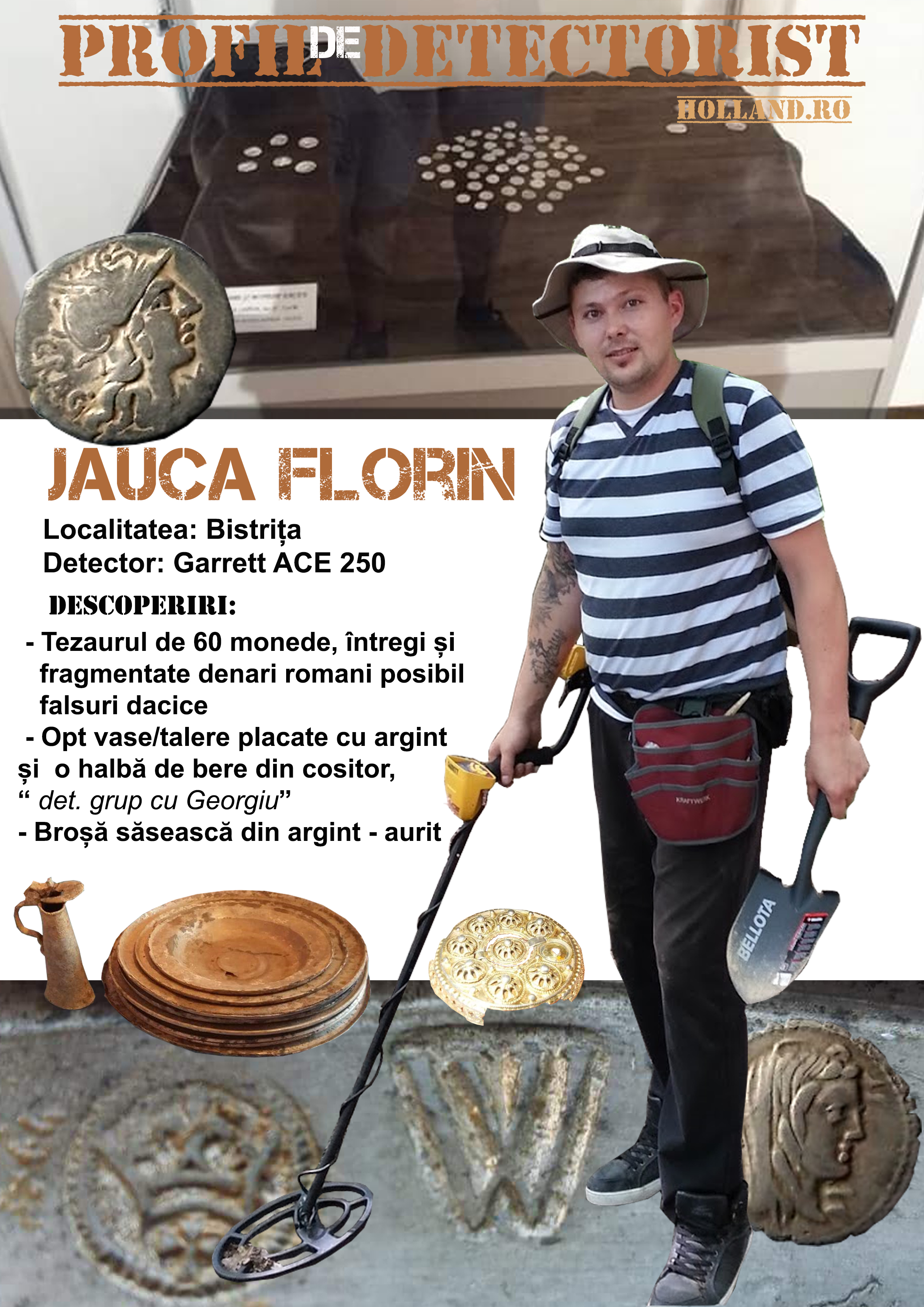 Profil de Detectorist -Jauca Florin