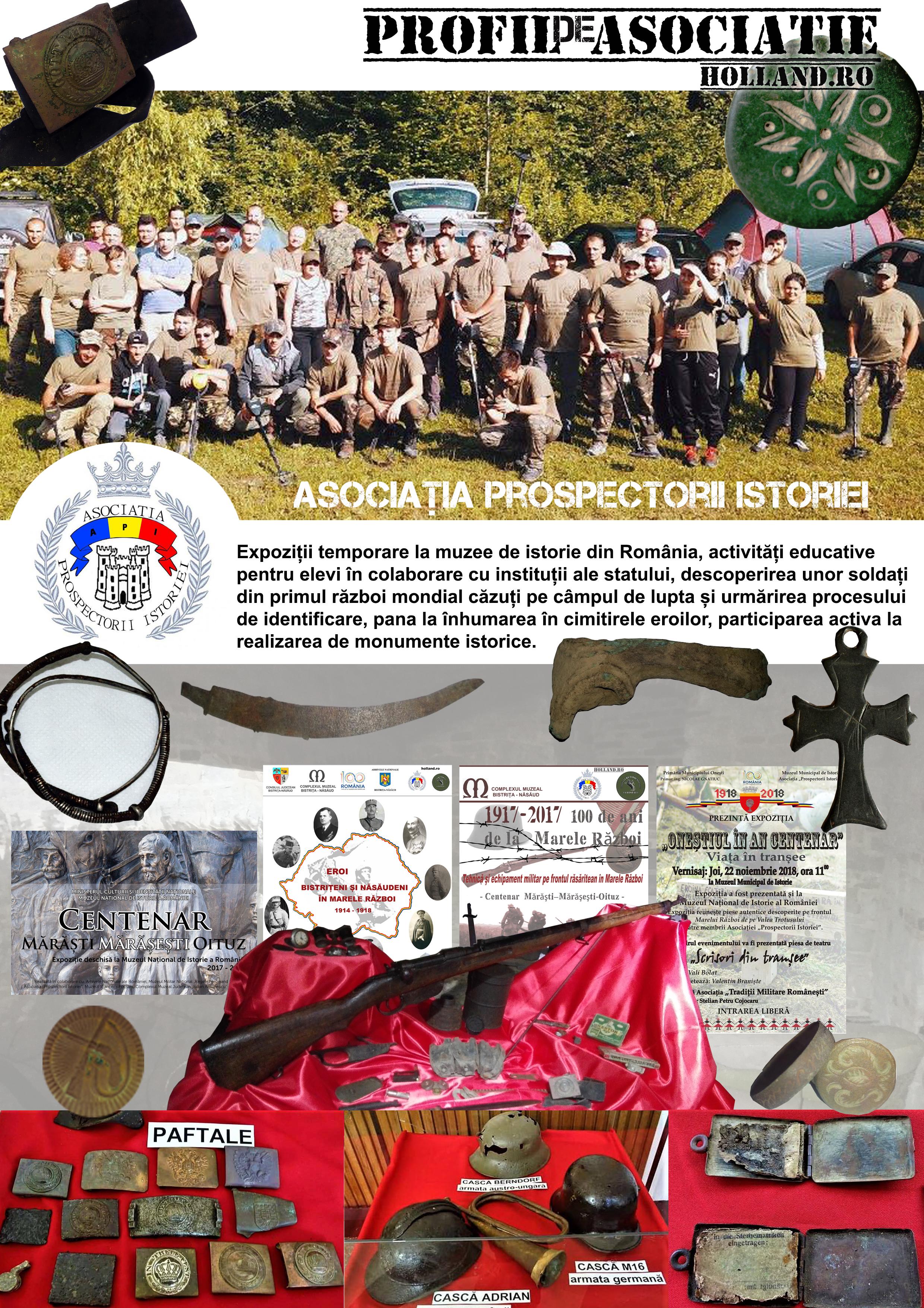 Profil de Asociatie - PROSPECTORII ISTORIEI - API