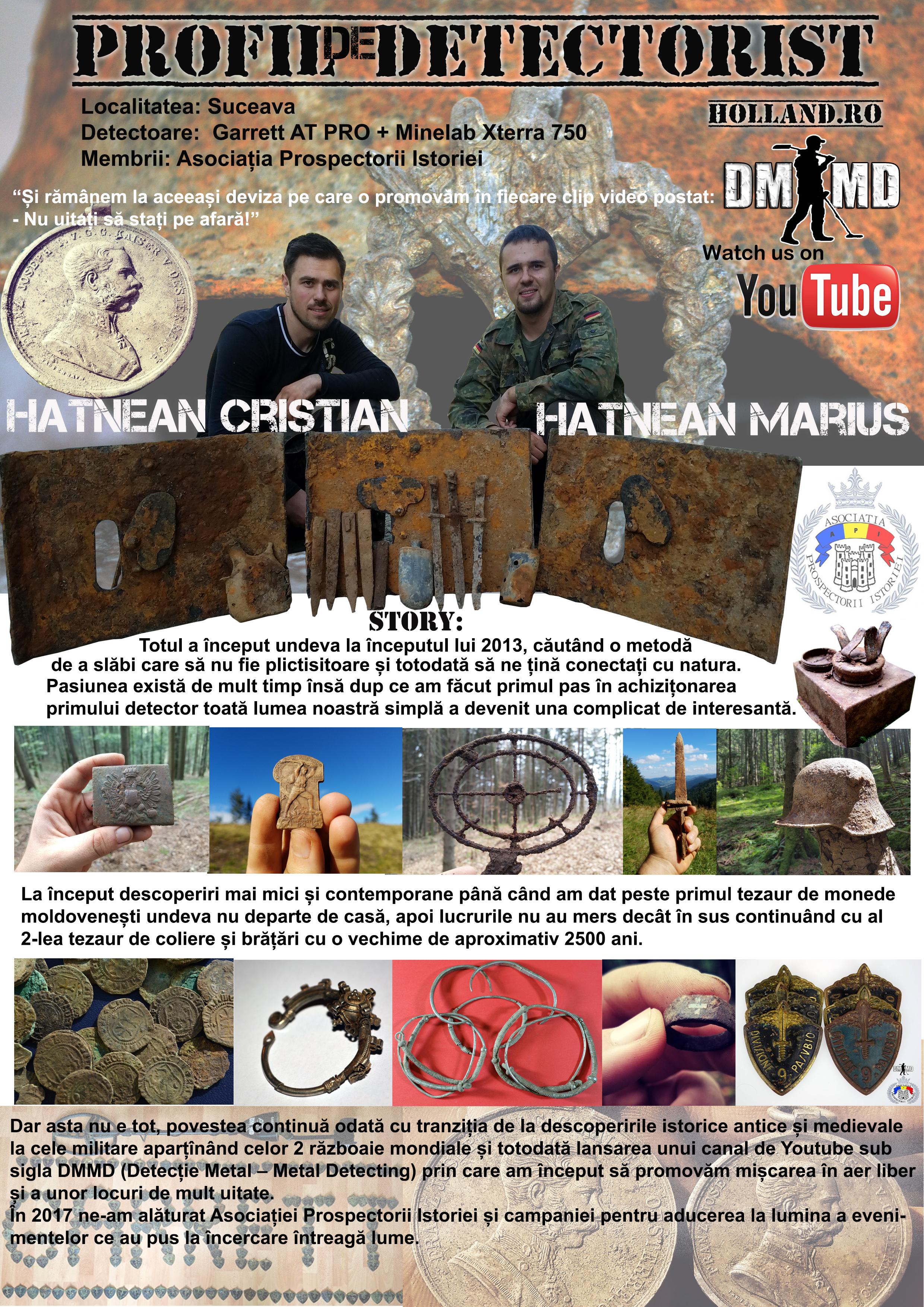 Profil de Detectorist – Fratii Hatnean