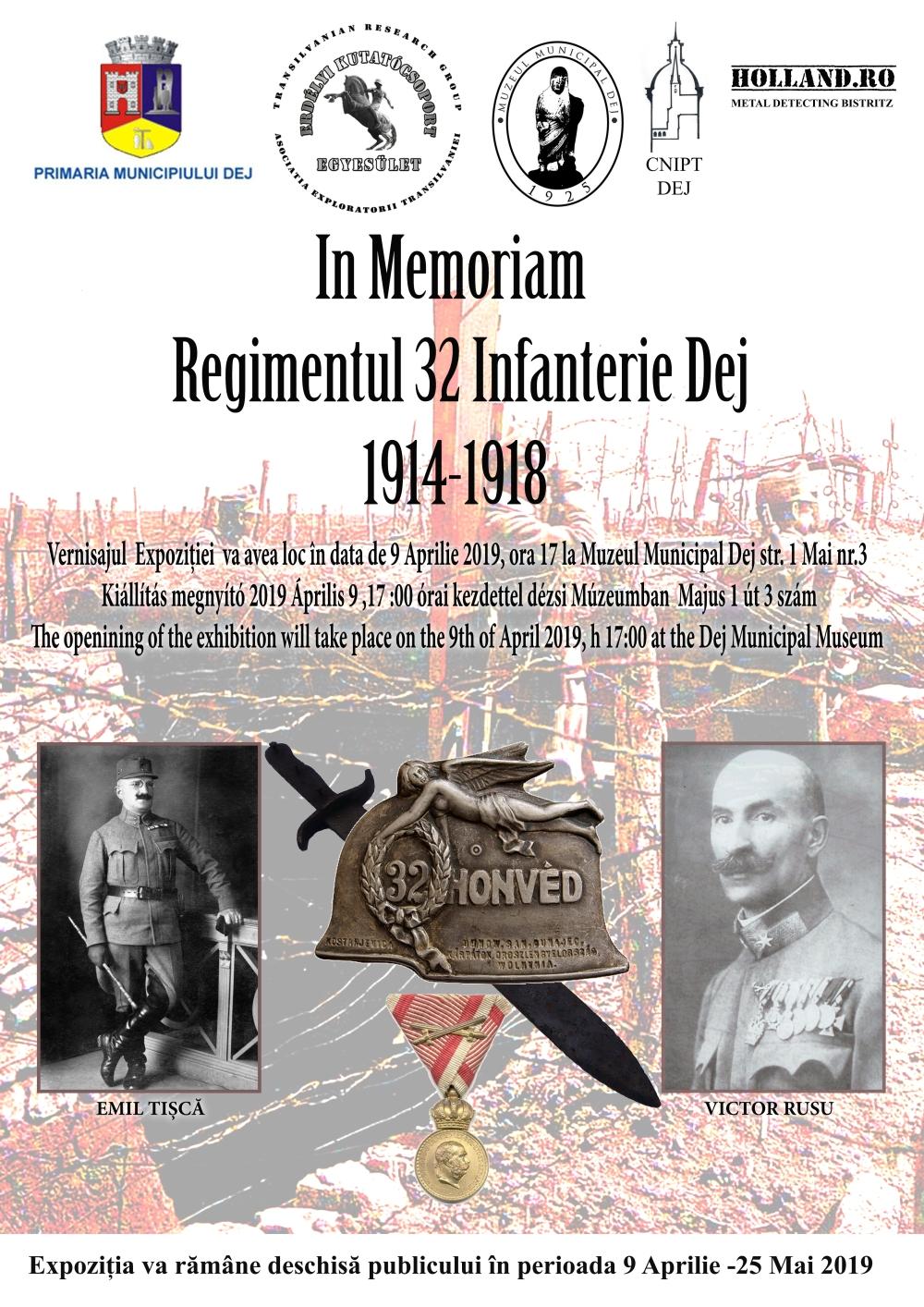 In Memoriam Regimentul 32 Infanterie Dej 1914-1918