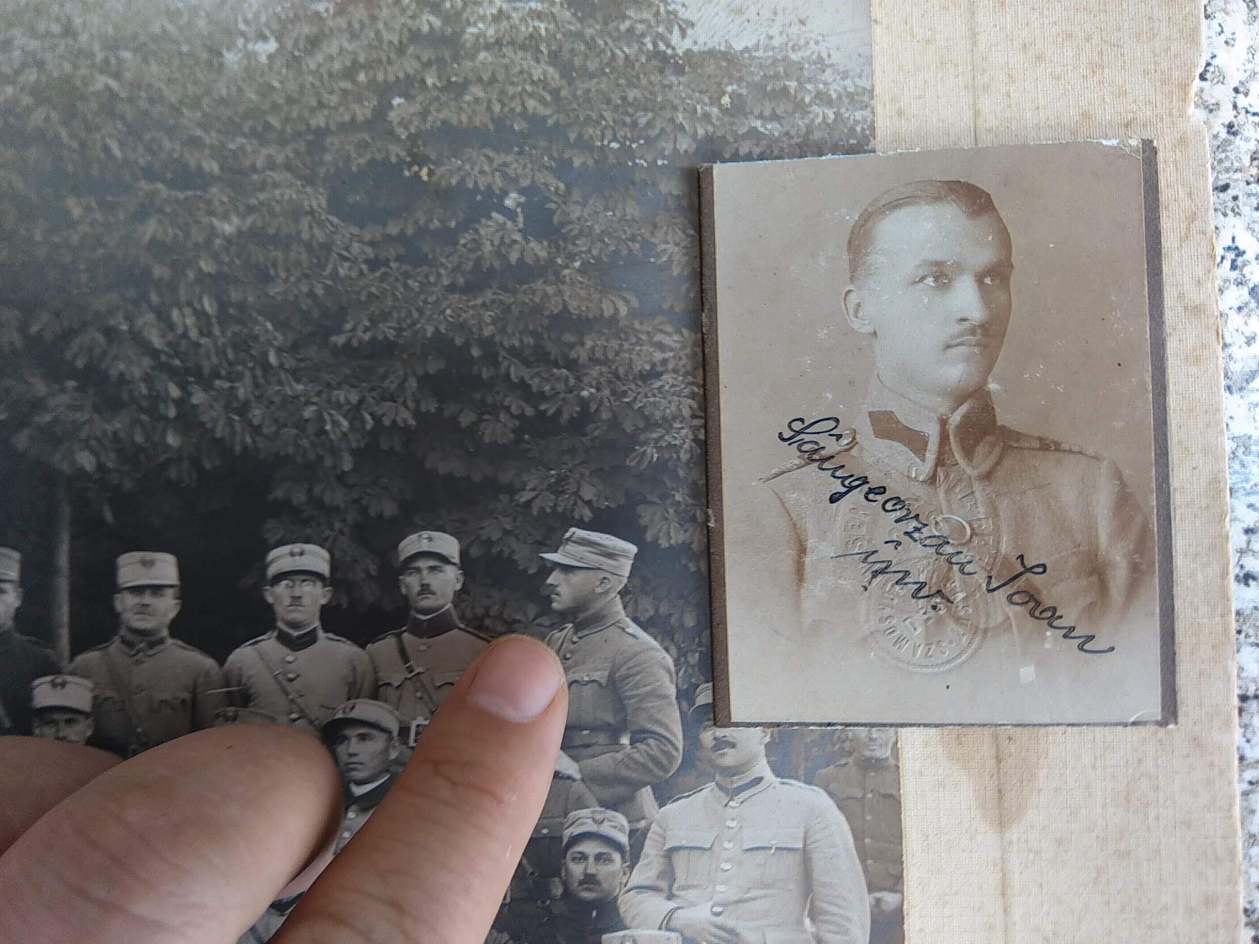 "Eroul bistrițean din ""Marele Razboi"" - Sângeorzan Ioan"