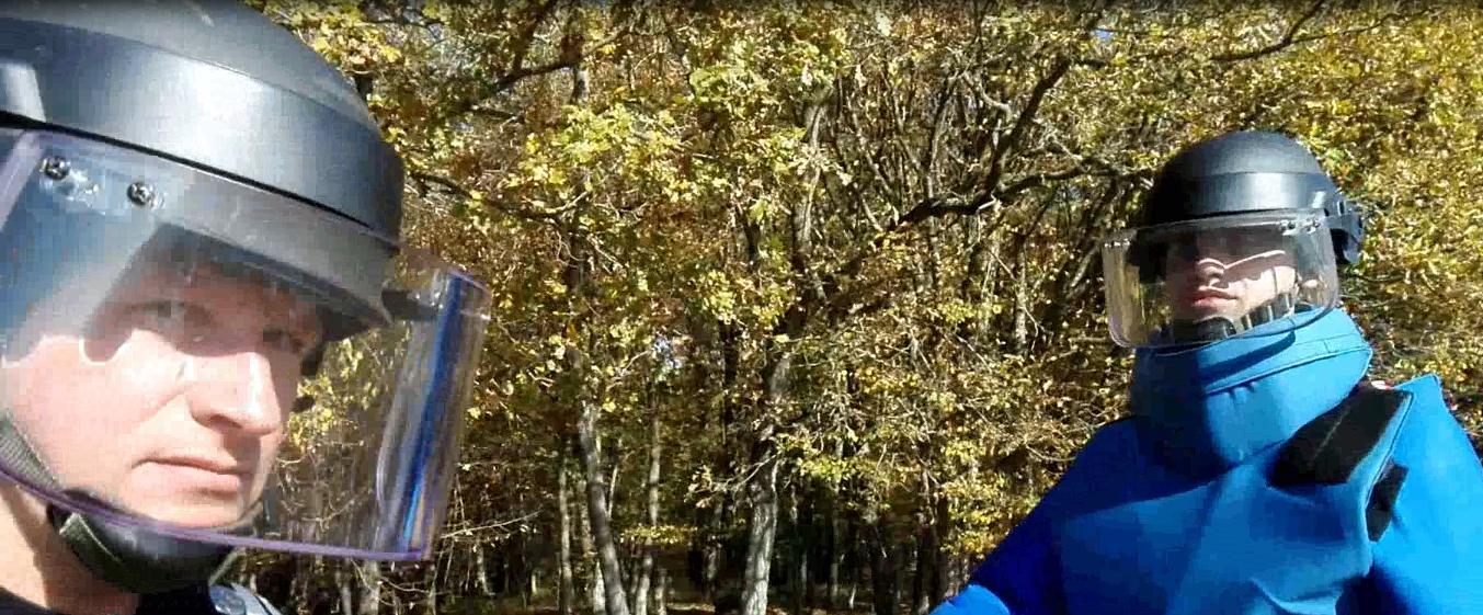 Misiune ISU Mures cu detectoristii bistriteni - VIDEO