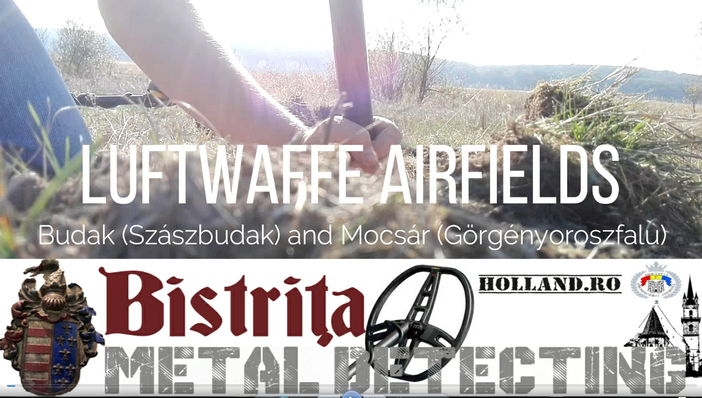 Detectii pe vechile aerodromuri germane Mocsár si Budak 2019