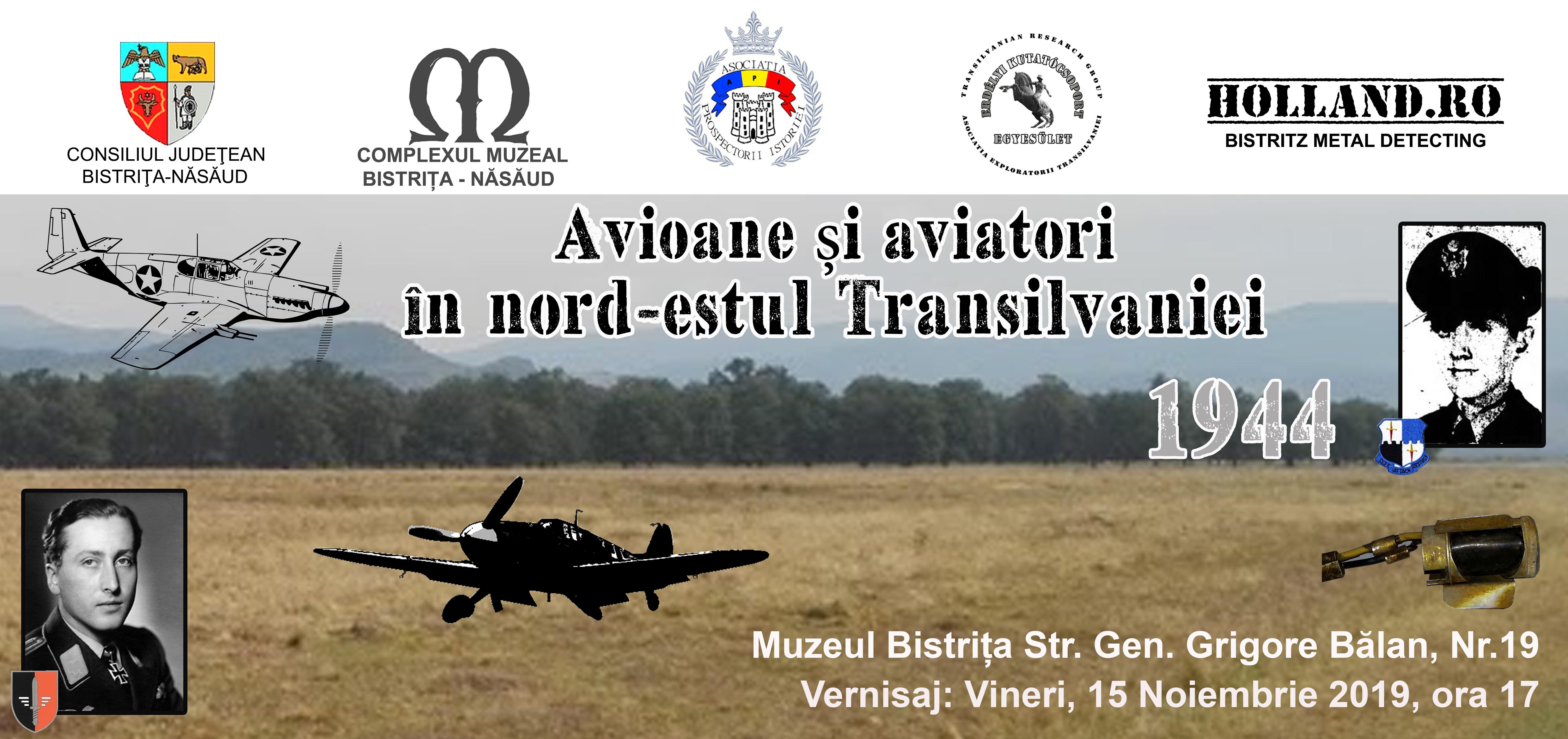 Avioane și aviatori în nord-estul Transilvaniei 1944