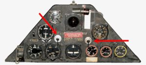Aerodromul Budacu - Comutator lumini Foke Wulf 44 sau 56