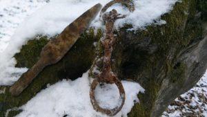 Detectie medievala de iarna - Detectie de metale Bistrita