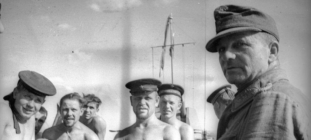 Comandantul Kievului - criminalul de razboi Karl Burckhardt capturat de rusi in Braila – foto capturare