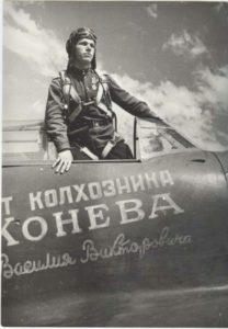 Pilotul Nikitovich Kozhedub care a doborat 13 avioane romanesti si germane