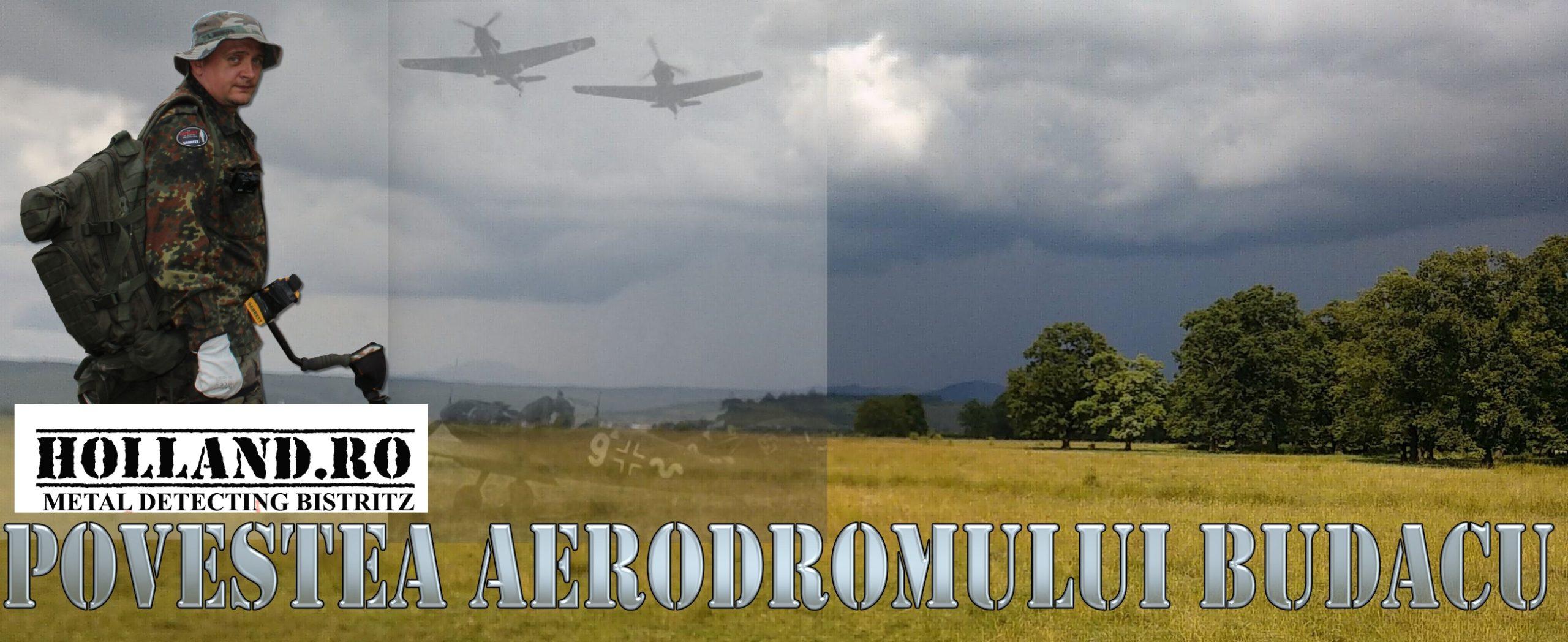 Noi piese identificate de pe vechiul aerodrom german Budacu - Ssas Budak 1944